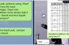 11 Balasan chat singkat dari dosen ini bikin mahasiswa nyengir kecut