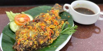 Mencicipi ikan mujair nyat nyat khas Kintamani, nikmatnya tiada dua