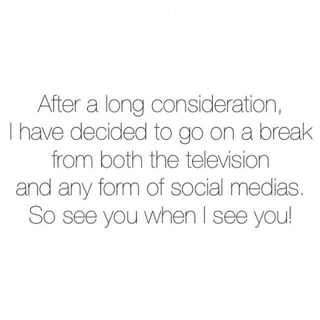 cerita seleb rehat dari media sosial © Instagram