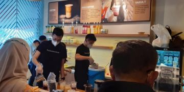 Buka outlet kedua di Bandung, Kopi Mantan bagikan jahe latte gratis