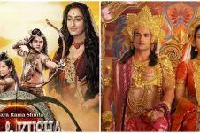 Beda penampilan 5 pemain Lava & Kusha di serial dan keseharian