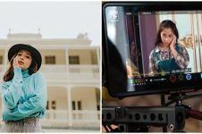 10 Momen seru Nikita Willy syuting mini series Cinta Nikita