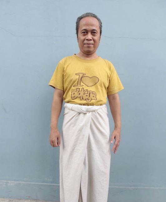 Ki Joko Bodo kaki bengkak © KapanLagi.com