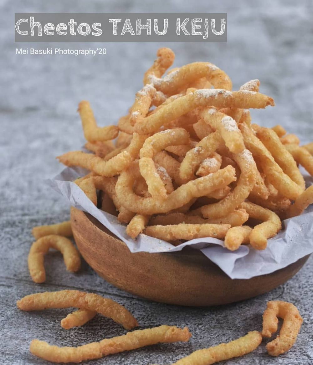 Resep cheetos tahu yang lagi trend Instagram