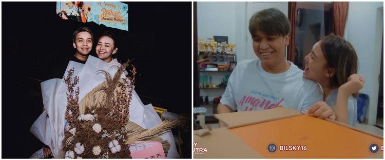 12 Momen Billy Syahputra beri hadiah tas mewah ke Amanda Manopo