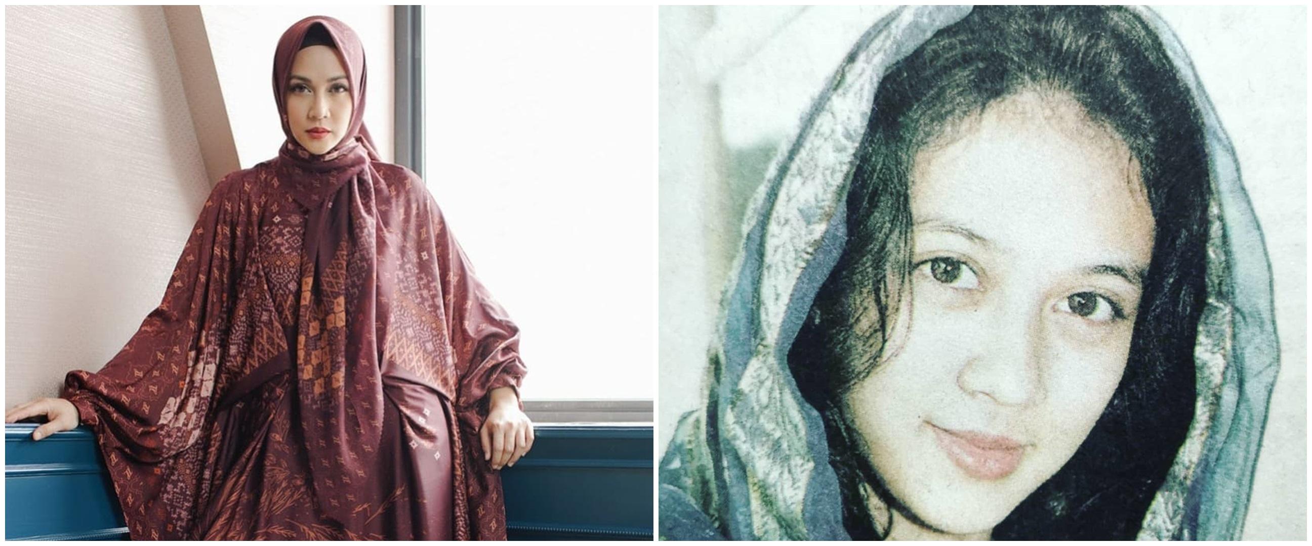 10 Potret lawas Dina Lorenza, cantiknya tak pudar