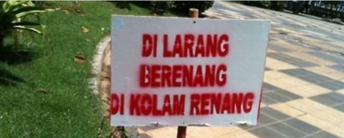 larangan unik yang cuma ada di Indonesia Berbagai sumber
