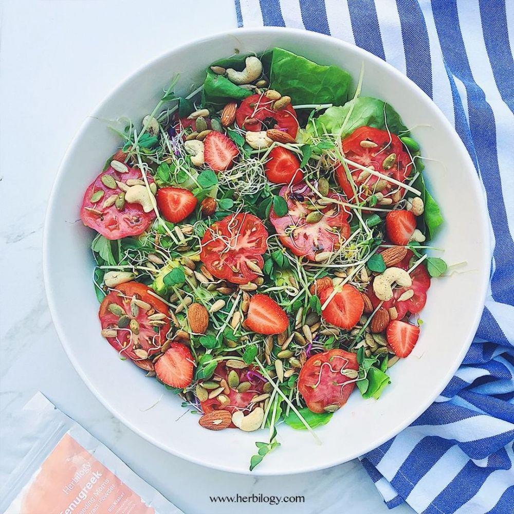 Resep olahan selada paling enak © 2020 brilio.net/ Instagram/cookpad