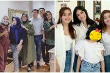 8 Momen kedekatan Ayu Ting Ting & keluarga Adit Jayusman, kompak abis