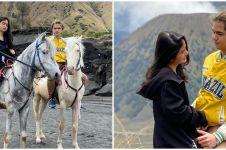 8 Momen liburan Dul Jaelani dan Tissa Biani di Bromo, bikin baper
