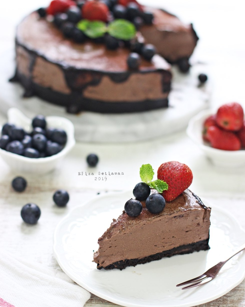 Resep Cheesecake © Instagram