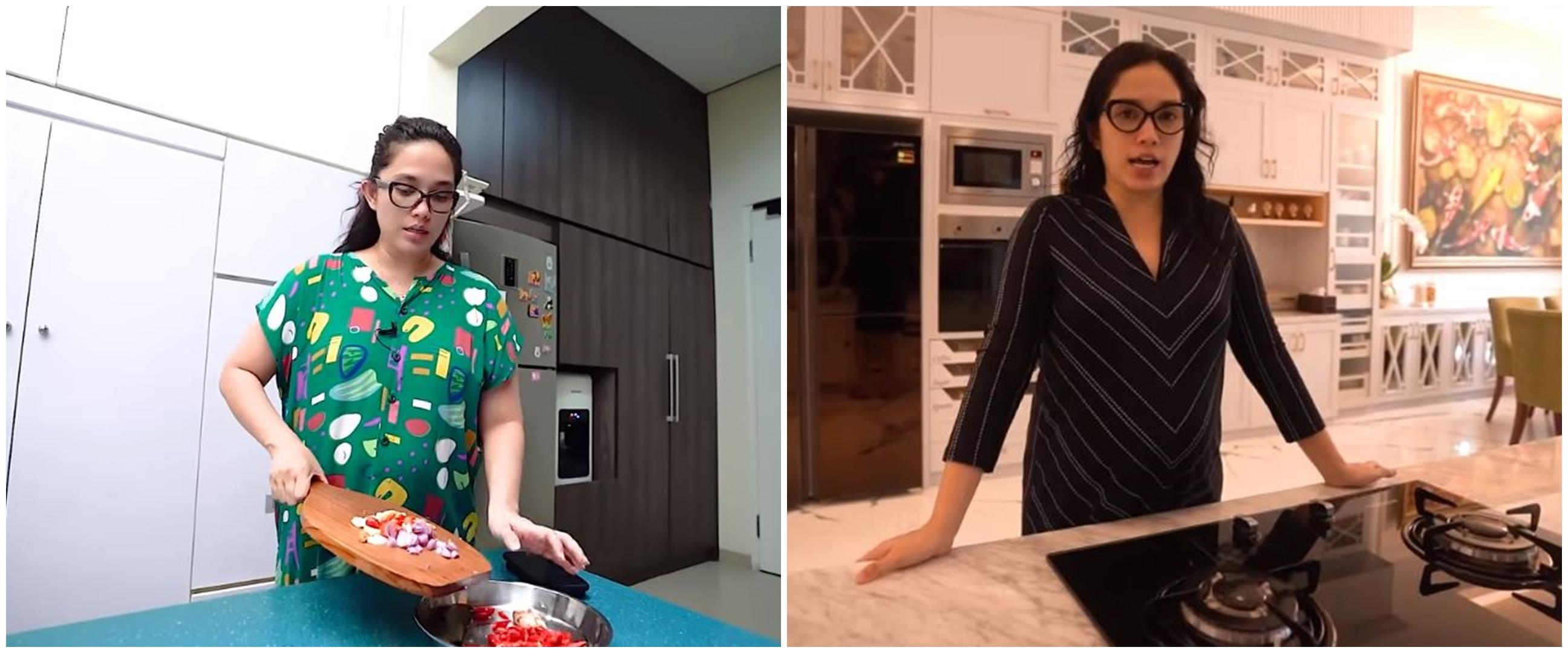 Hobi masak, intip 10 potret 3 dapur rumah Ussy Sulistiawaty