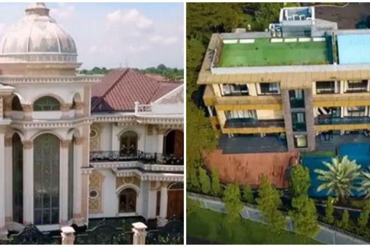 Penampakan rumah mewah 6 'Sultan' Indonesia, bak istana