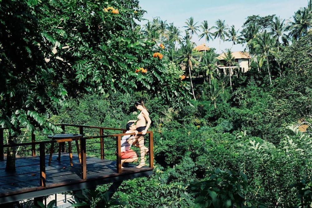 seleb babymoon di Bali © 2020 brilio.net