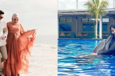 Potret 10 seleb babymoon di Bali, ada yang berenang bareng lumba-lumba