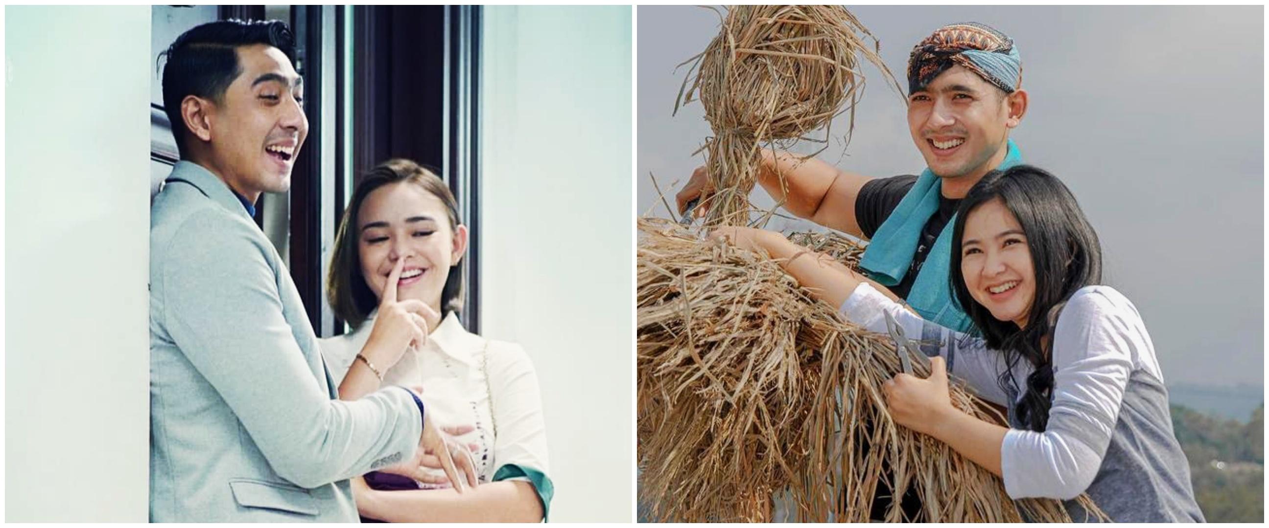 10 Momen Arya Saloka dengan kekasih di sinetron, bikin baper
