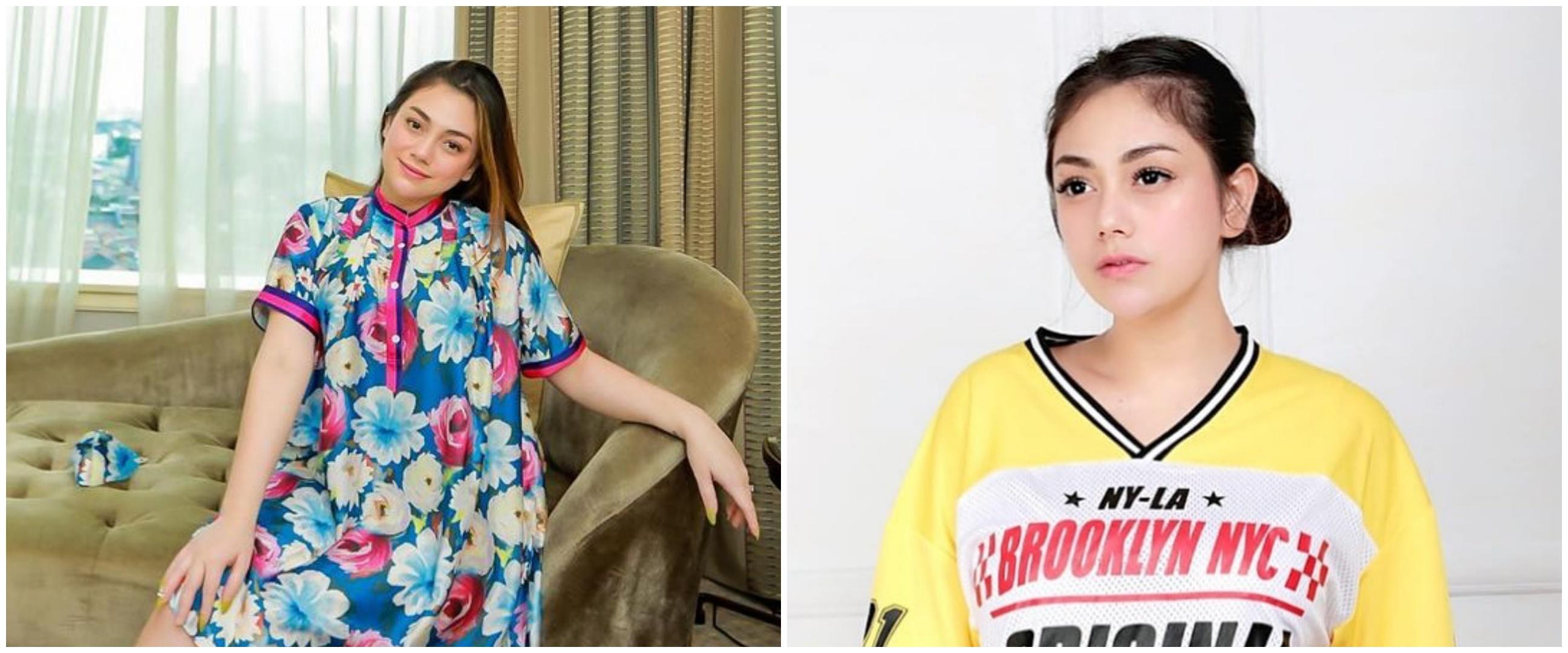 Foto masa kecil Celine Evangelista dan anak ini mirip, bak kembaran