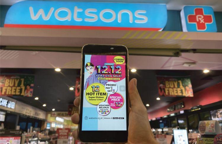 Sambut Harbolnas, Watsons sebar diskon dan voucher ratusan juta rupiah