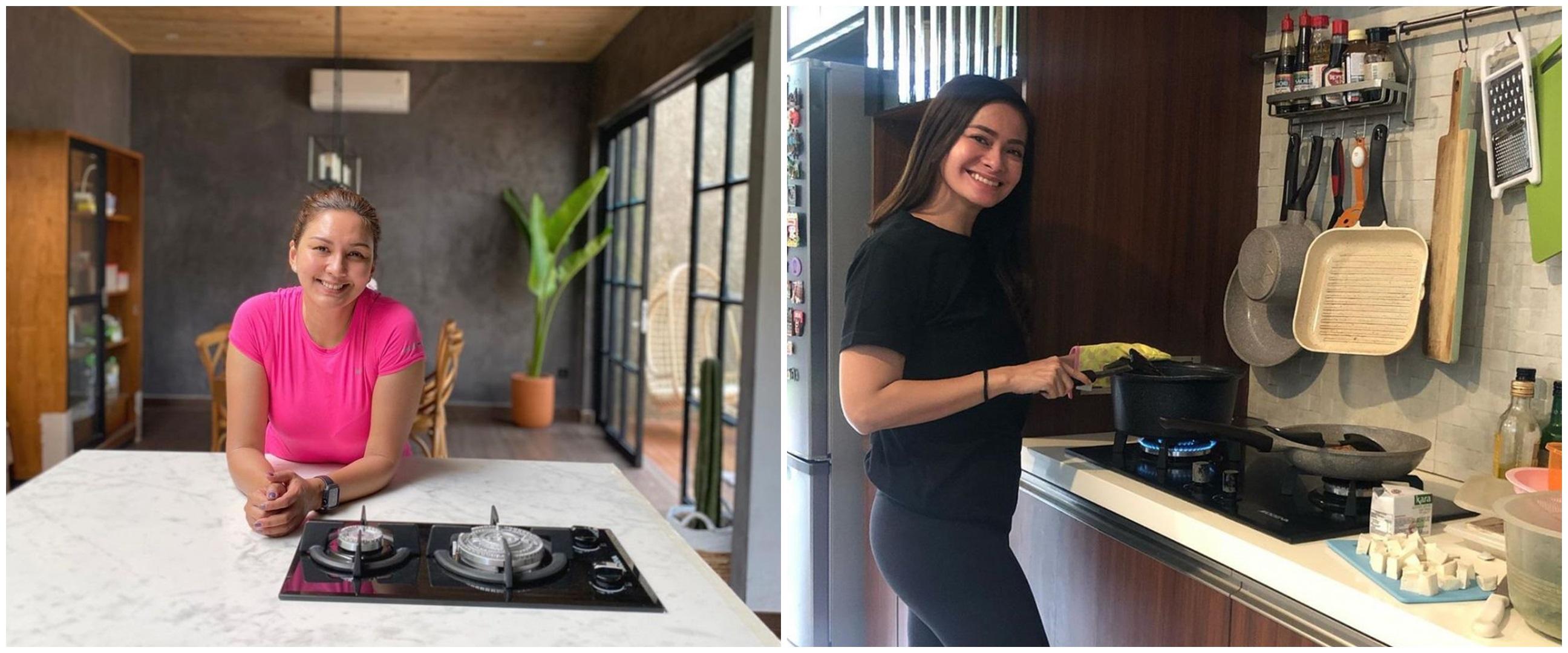 Potret dapur 10 presenter cantik, mewah hingga gaya industrial