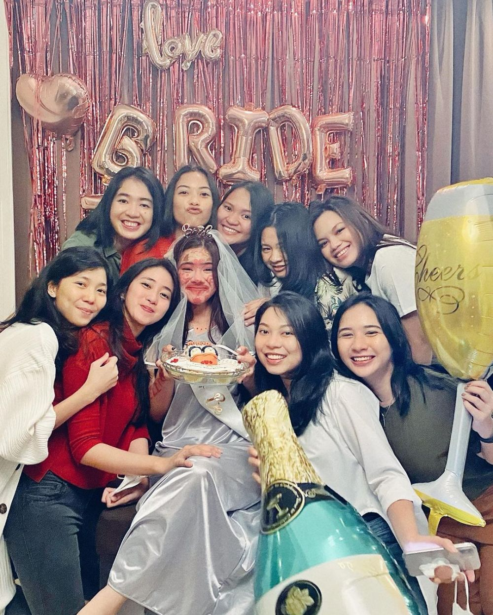 Bridal shower Felicya Angelista © Instagram