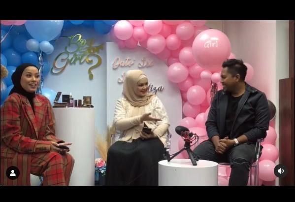 Momen baby shower Siti Nurhaliza © Instagram
