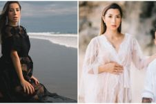 10 Potret maternity shoot Jennifer Bachdim dengan berbagai tema