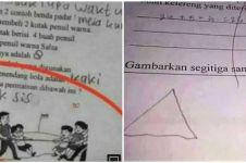 10 Jawaban nyeleneh siswa di lembar tugas ini bikin tepuk jidat, kocak