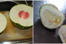 10 Momen zonk saat kupas buah, mau ketawa tapi kasihan