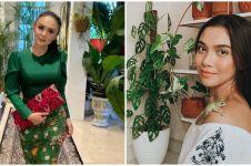 Penampakan kebun dalam rumah 7 seleb, punya Yuni Shara bikin takjub