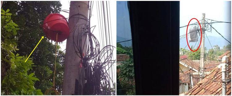 8 Penampakan aneh di tiang listrik ini bikin gagal fokus