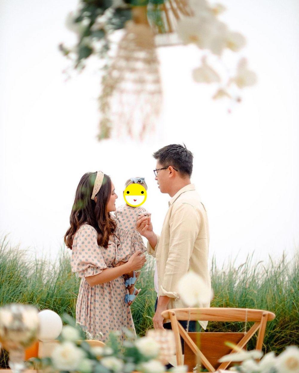 Potret perayaan anniversary pernikahan ke-9 Shandy Aulia Instagram