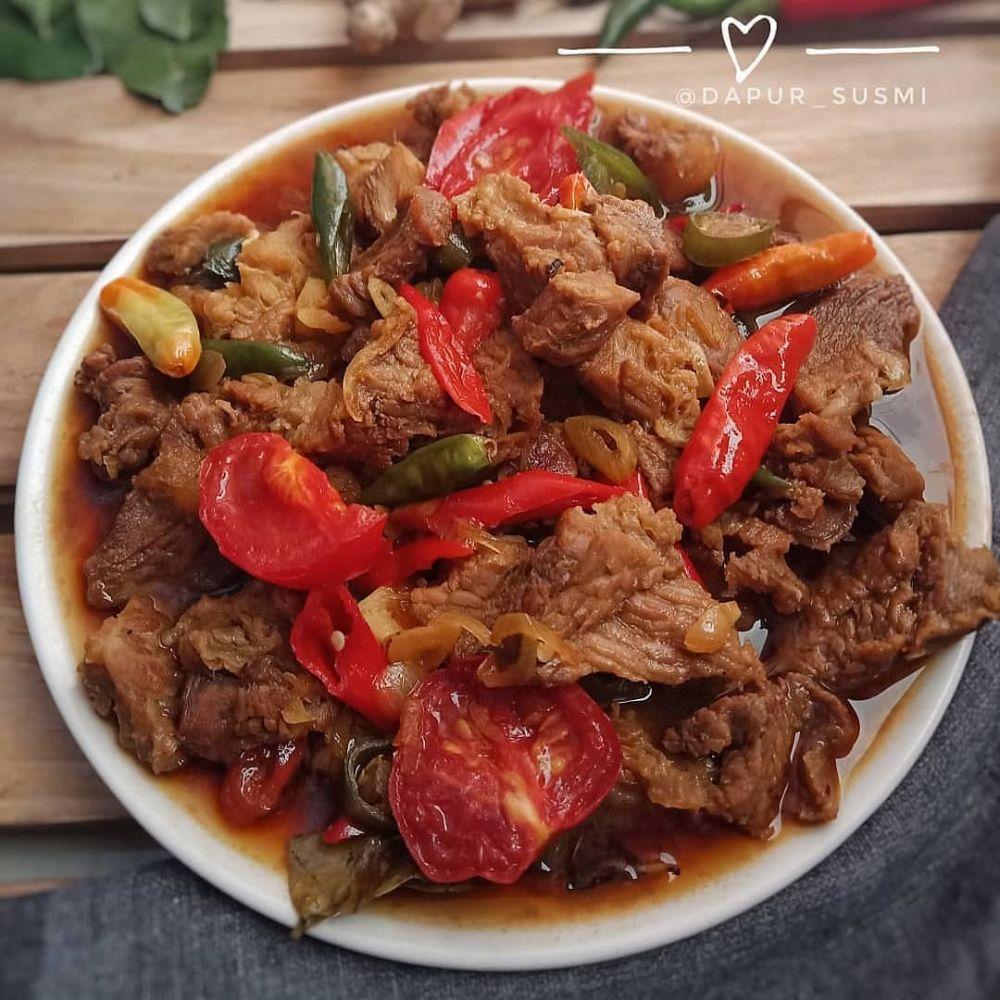 Resep masakan daging kecap ala rumahan Instagram