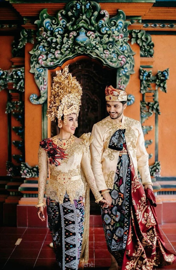 Pernikahan Gautam Nain pemain Chandra Nandini © 2020 brilio.net Instagram