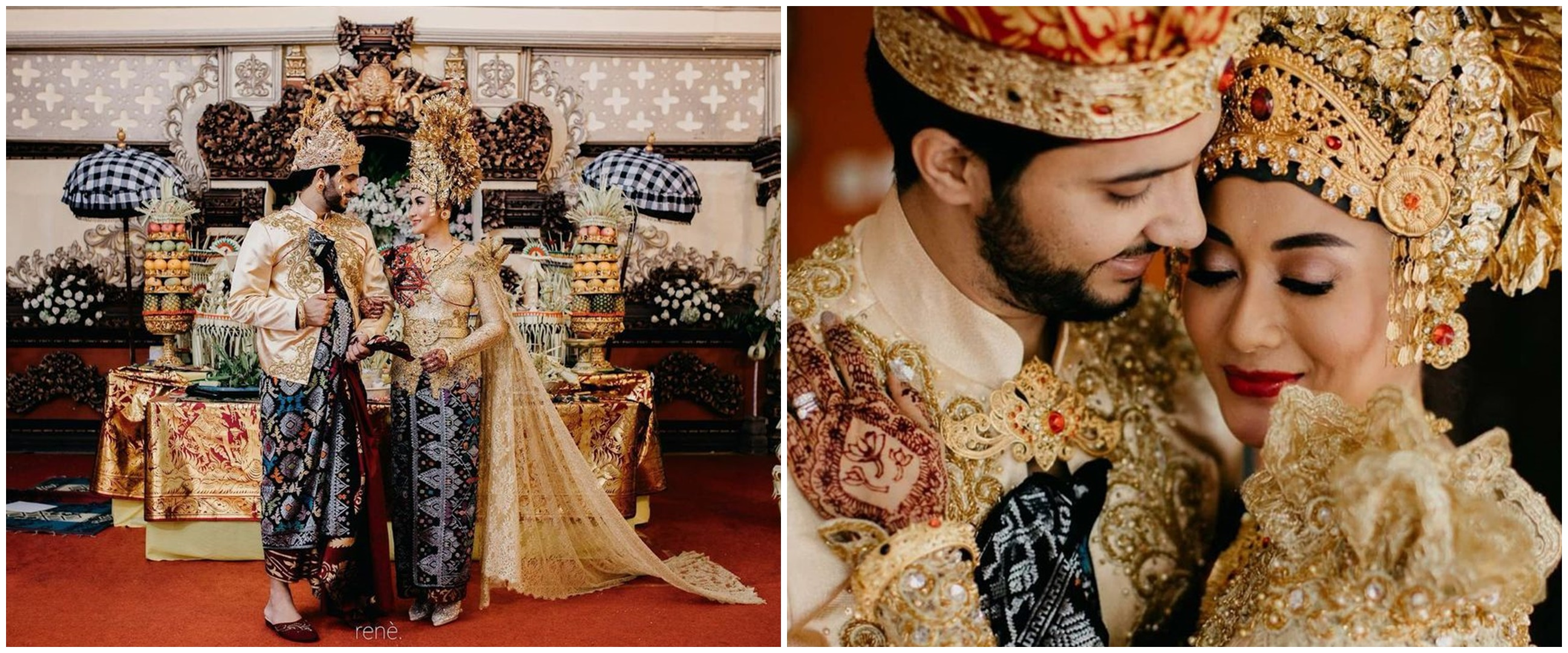 7 Potret pernikahan Gautam 'Chandra Nandini' & Soffie pakai adat Bali