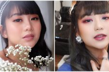 10 Momen pemotretan Ghea Indrawari ala Korean look, gemas bak bidadari