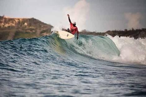 Spot surfing di Mandalika © 2020 brilio.net