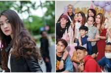 10 Momen kejutan ultah Natasha Wilona ke-22, kue ultahnya unik