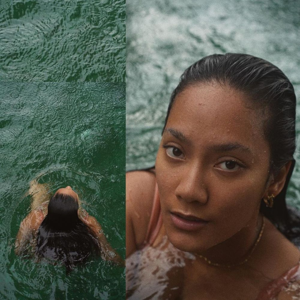 Potret Tara Basro liburan di Bali © Instagram