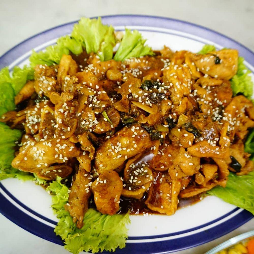 resep kreasi ayam teriyaki © 2020 brilio.net/ Instagram/cookpad