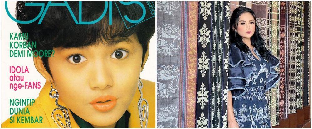 potret lawas dan kini diva pop © berbagai sumber