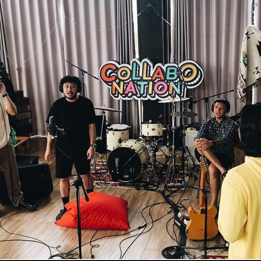 Kunto Aji kena prank, ini momen lucu 7 musisi di Collabonation Camp