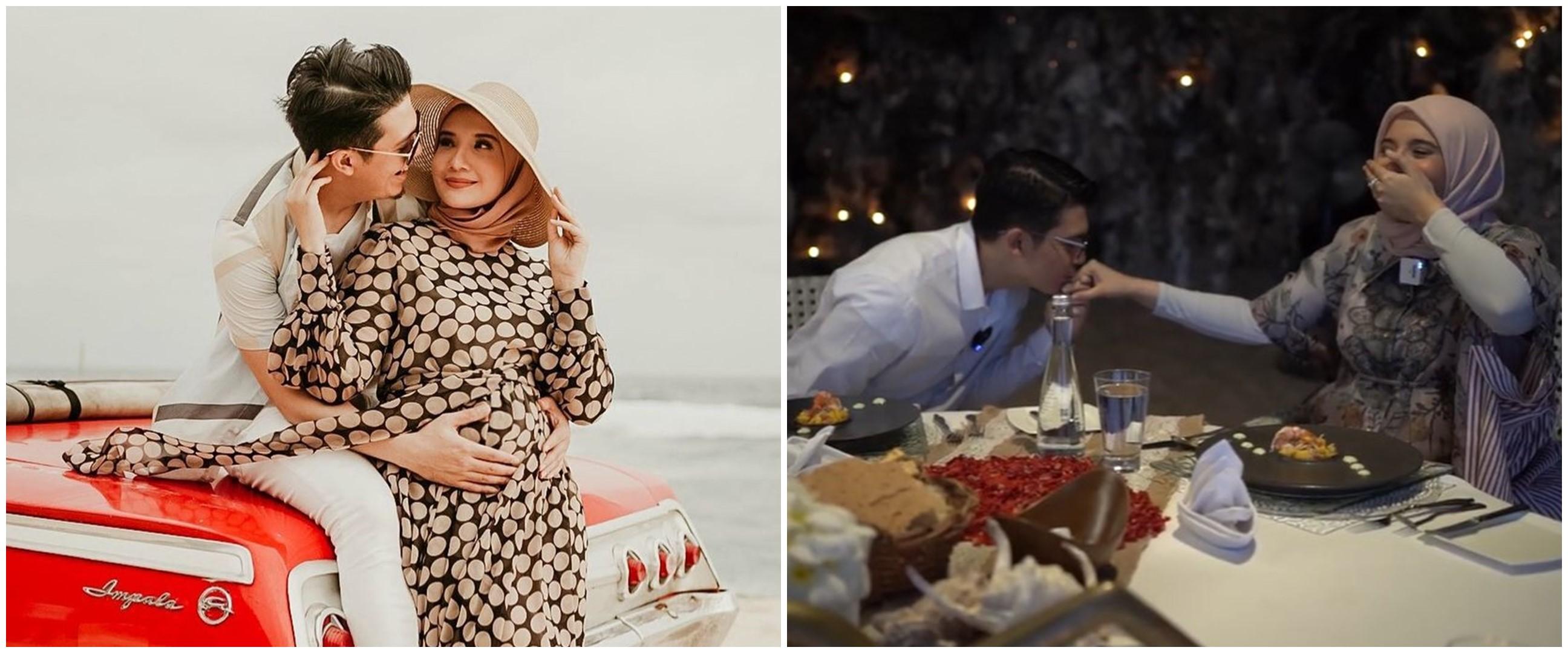 10 Momen private dinner Irwansyah dan Zaskia Sungkar, bikin haru