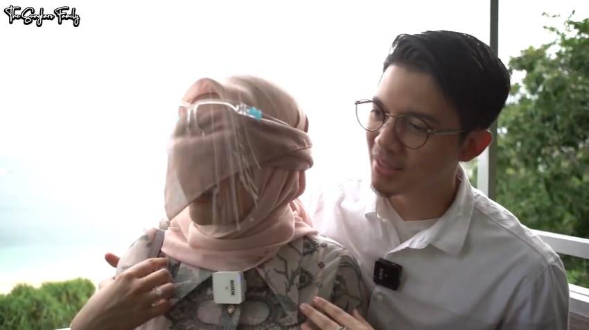 Momen private dinner Irwansyah dan Zaskia Sungkar © YouTube