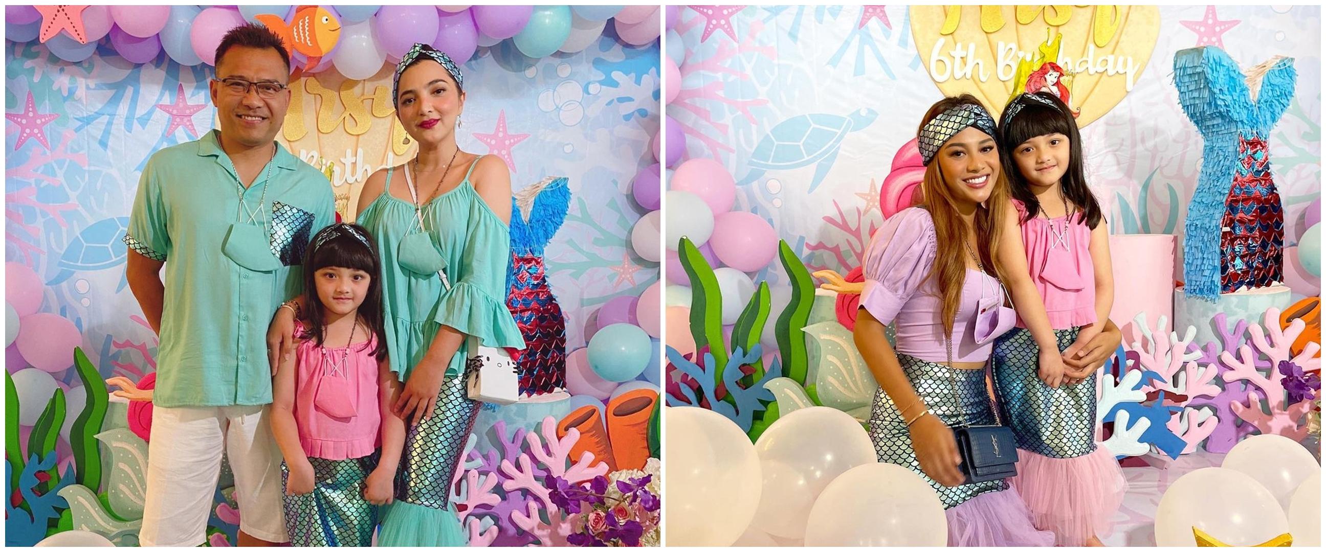 10 Momen Ashanty rayakan ultah Arsy Hermansyah ke-6, bertema mermaid