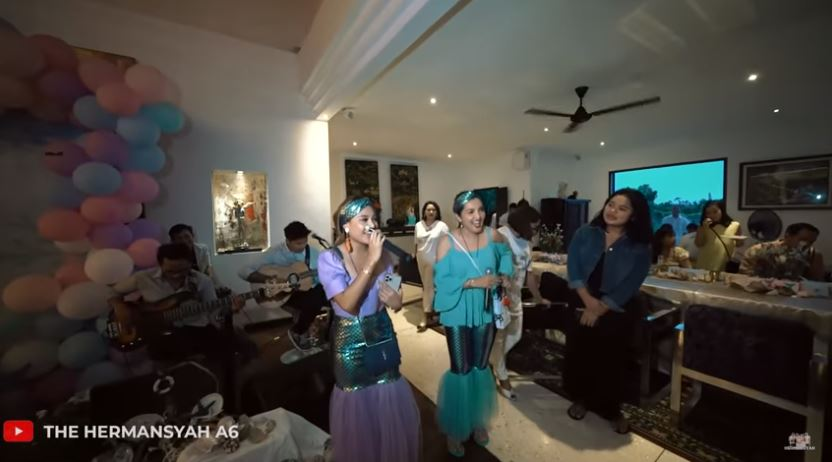 Momen Ashanty rayakan ultah Arsy © 2020 brilio.net/ Instagram/ YouTube