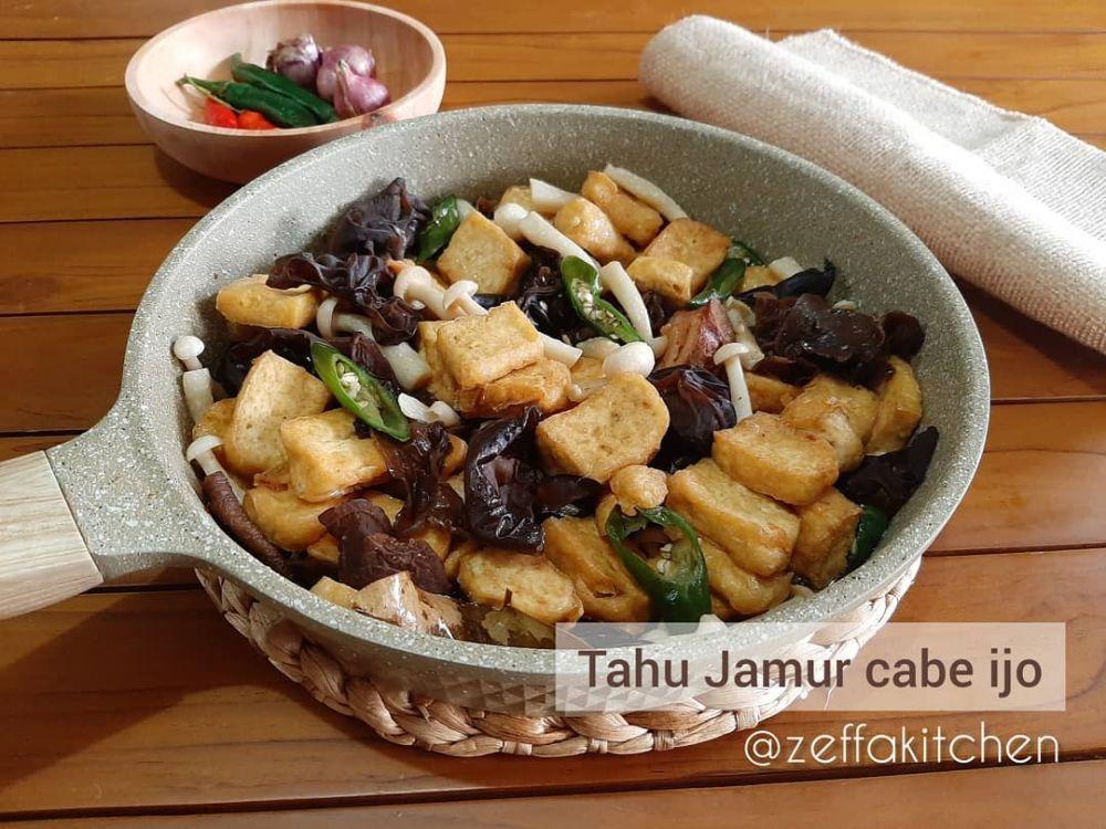 Resep kreasi jamur dan tahu paling enak © 2020 brilio.net/ Instagram/cookpad