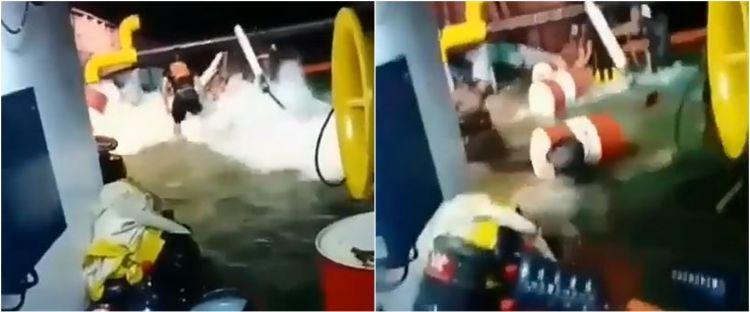 Kisah awak kapal lantunkan salawat saat kapalnya diterjang ombak besar