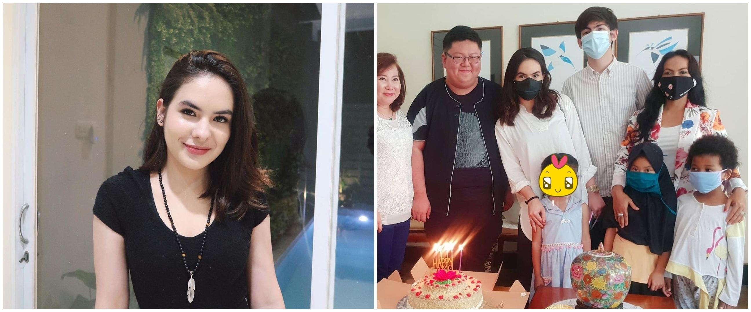 8 Momen ulang tahun Steffi Zamora ke-20, dirayakan di panti asuhan