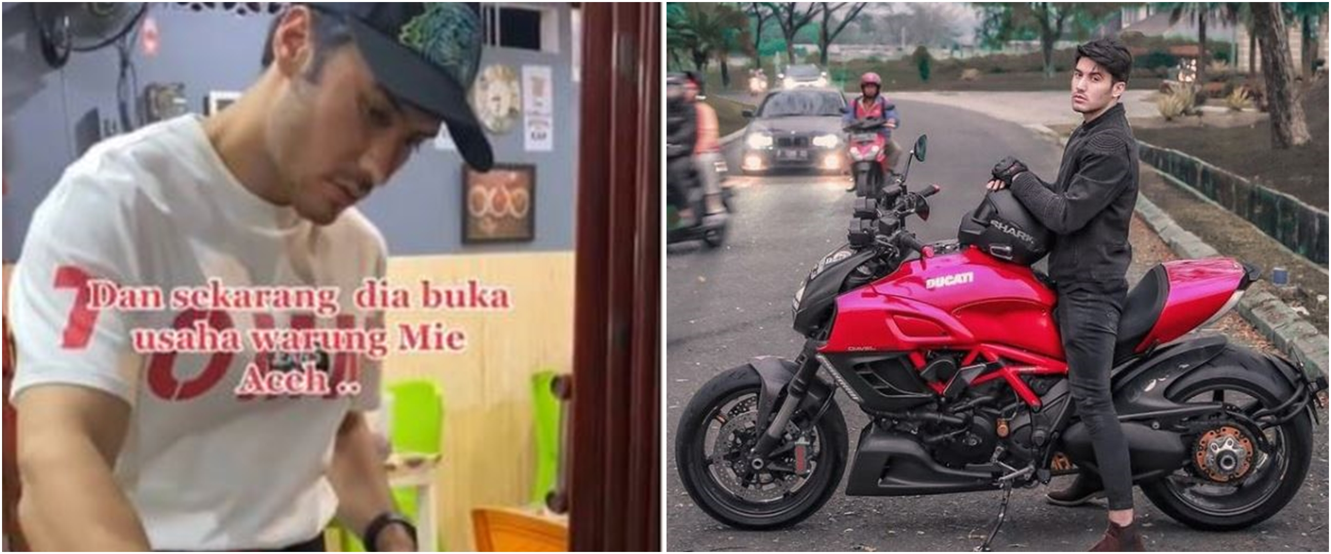 8 Potret Bara Valentino, penjual mi Aceh ganteng yang curi perhatian