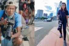 Cerita fotografer raup untung dari pesepeda di Jembatan Kuningan